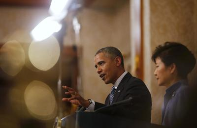South Korea, U.S. pledge firm response to North Korea