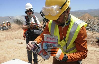 Atari cartridges found in New Mexico landfill