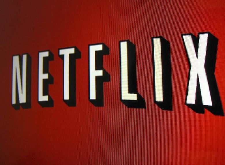 The Netflix logo is is shown on an ipad in Encinitas, California, April 19, 2013. REUTERS/Mike Blake
