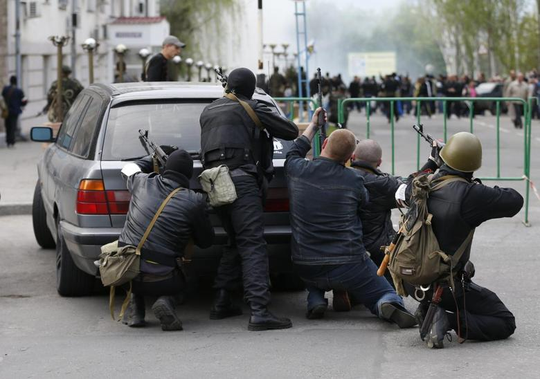 Ukraine separatists seize second provincial capital,...