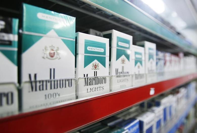 Cigarettes are be seen in a tobacco shop in New York April 1, 2009. REUTERS/Lucas Jackson