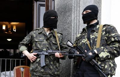 Ukraine's restive east slipping from government's...