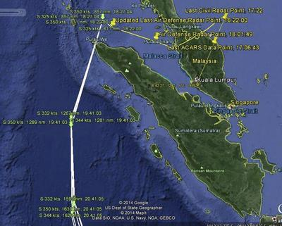 Red herring in hunt for MH370 highlights air traffic...