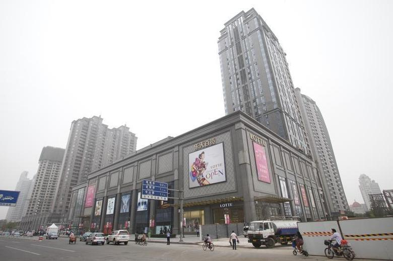 A general view of the new Lotte Department Store in Tianjin June 17, 2011.REUTERS/Lotte Department Store/Handout
