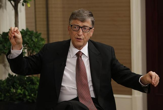 Bill Gates speaks during an interview with Reuters in Singapore April 6, 2014. REUTERS/Edgar Su/Files