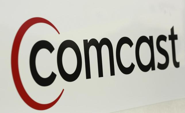 A Comcast sign is shown in San Francisco, California February 13, 2014. REUTERS/Robert Galbraith