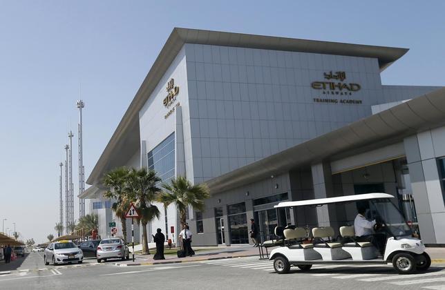 Etihad Airways headquarters is seen in Abu Dhabi March 3, 2014. REUTERS/ Stringer