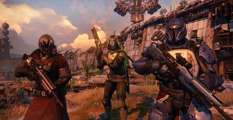 A screen grab from the video game Destiny. Activision Blizzard Inc intends to spend $500 million developing and promoting ''Destiny,'' potentially breaking industry records as it seeks to build the sci-fi role-playing videogame into its next multibillion-dollar franchise. REUTERS/Bungie/Activision
