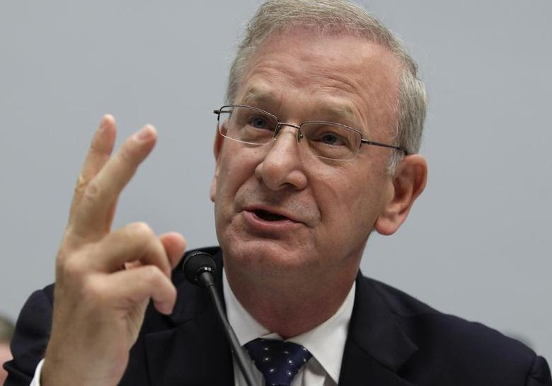FDIC Vice Chair Thomas Hoenig testifies before the House Financial Services Committee hearing on ''Examining How the Dodd-Frank Act Could Result in More Taxpayer-Funded Bailouts'' on Capitol Hill in Washington June 26, 2013. REUTERS/Yuri Gripas