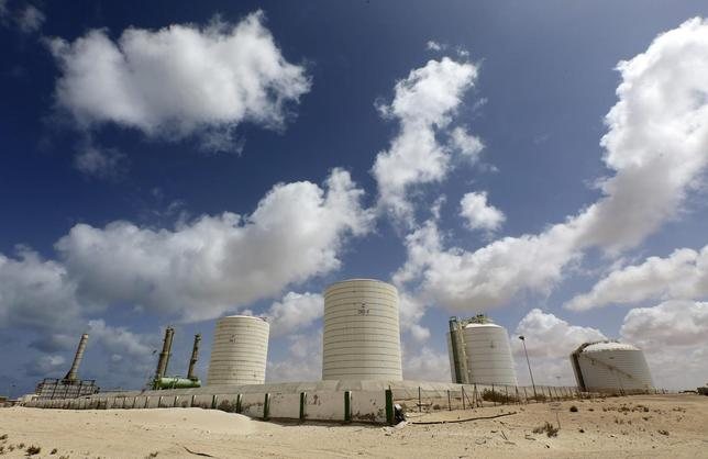 A general view of the Zueitina oil terminal is seen in Zueitina, west of Benghazi April 7, 2014. REUTERS/Esam Omran Al-Fetori