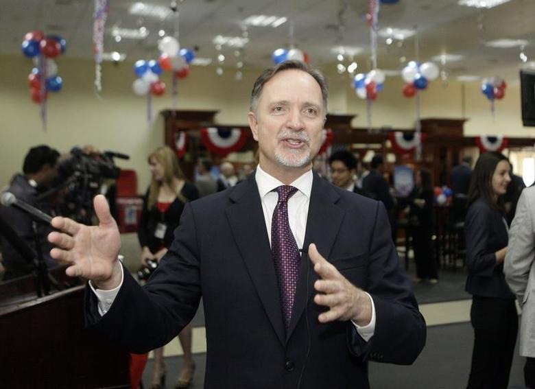U.S. Ambassador to Iraq Robert Stephen Beecroft speaks during a news conference in Baghdad, November 7, 2012. REUTERS/Khalid Mohammed/Pool