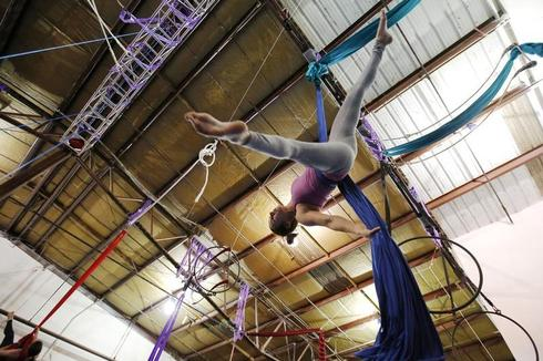 Learning the acrobatic ropes