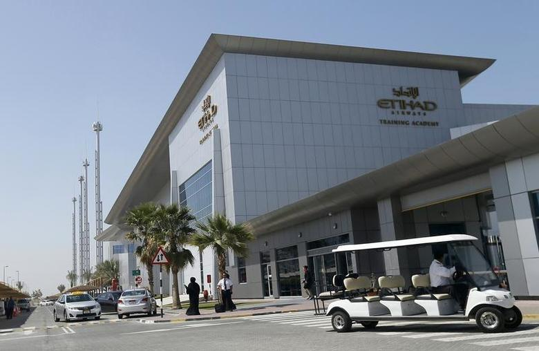 Etihad Airways headquarters is seen in Abu Dhabi March 3, 2014. REUTERS/ Stringer