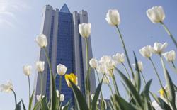 Центральный офис Газпрома в Москве, 13 мая 2014 года. Крупнейший в мире производитель природного газа - Газпром надеется увеличить добычу в 2014 году на 2 процента до 496,4 миллиарда кубометров в сравнении с предыдущим годом, несмотря на политические баталии с зарубежными потребителями газа на Западе и Украине. REUTERS/Maxim Shemetov