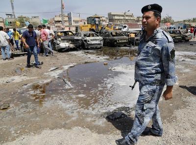 Rush hour bombs targeting Shi'ites kill 24 in Baghdad
