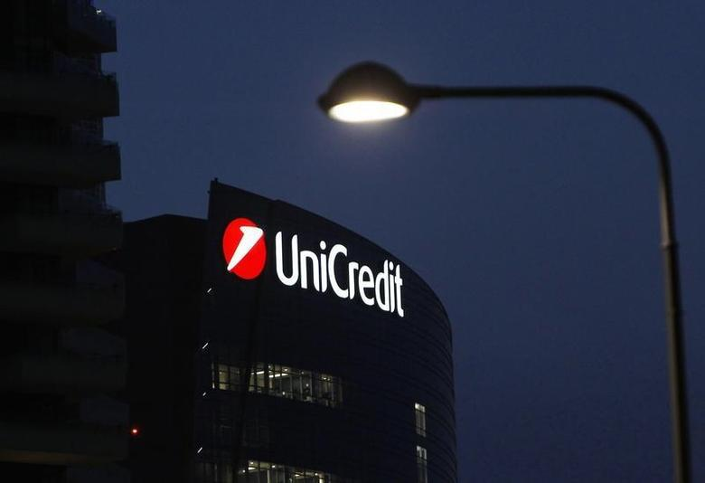 UniCredit Bank headquarters is pictured in Milan March 11, 2014. REUTERS/Alessandro Garofalo
