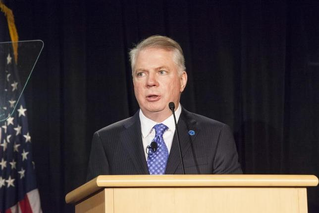 Ed Murray addresses the crowd after being sworn in as Mayor of Seattle at City Hall in Seattle, Washington January 6, 2014. REUTERS/David Ryder