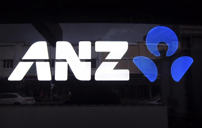 The logo of Australia and New Zealand Banking Group Ltd (ANZ) is pictured on a local branch in Sydney April 30, 2014. REUTERS/David Gray