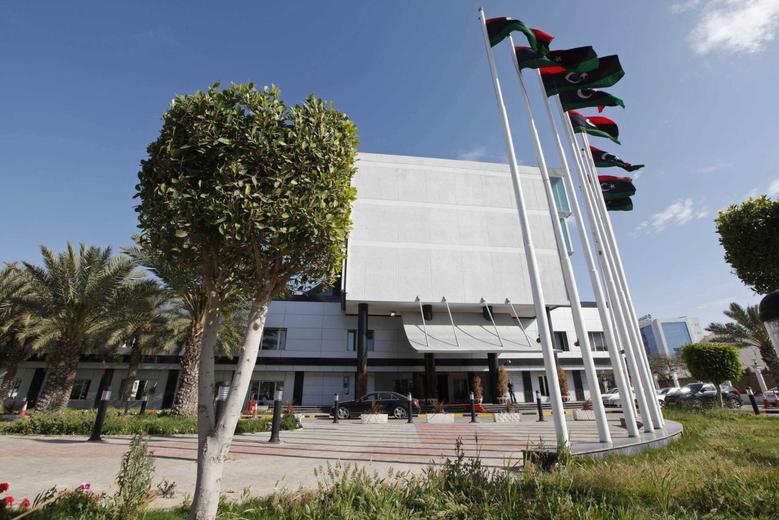 Libya's Prime Minister's headquarters is seen in Tripoli April 13, 2014. REUTERS/Ismail Zitouny