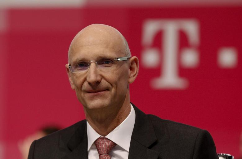Deutsche Telekom AG member of the board of management Timotheus Hoettges attends the company's general shareholders meeting in Cologne May 16, 2013. REUTERS/Ina Fassbender