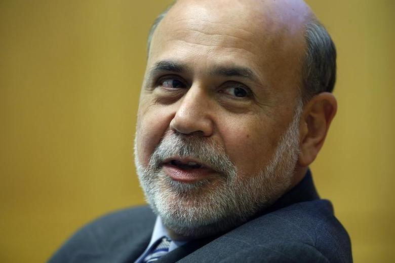 U.S. Federal Reserve Chairman Ben Bernanke speaks during a panel discussion on financial crises at the International Monetary Fund (IMF) Jacques Polak Annual Research Conference in Washington November 8, 2013. REUTERS/Jonathan Ernst