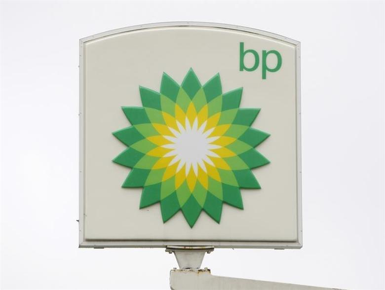 The BP brand logo is seen at a Washington DC service station October 27, 2009. REUTERS/Jason Reed