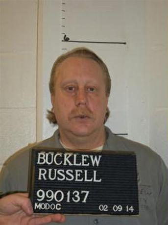 Death row inmate Russell Bucklew is shown in this Missouri Department of Corrections photo taken on February 9, 2014. REUTERS/Missouri Department of Corrections/Handout via Reuters