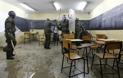 Clashes at Nairobi university