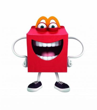 McDonald's restaurant new Happy Meal mascot is seen in this undated handout picture. (REUTERS/McDonald's)