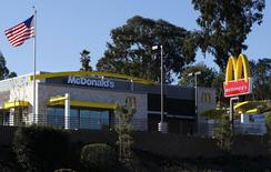 A newly constructed McDonald's restaurant is pictured in Encinitas, California January 14, 2014. REUTERS/Mike Blake