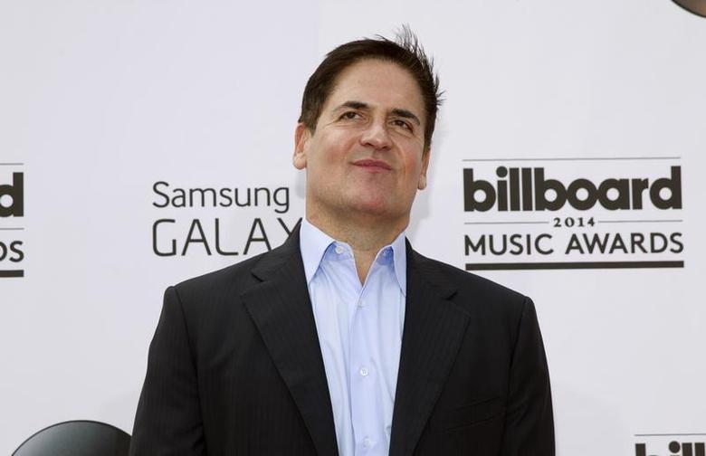Businessman Mark Cuban arrives at the 2014 Billboard Music Awards in Las Vegas, Nevada May 18, 2014. REUTERS/ L.E. Baskow