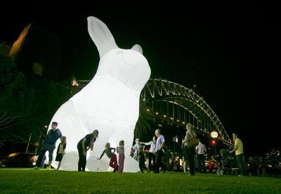 Lighting up Sydney