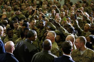 Obama, in Afghanistan visit, says he's hopeful on...