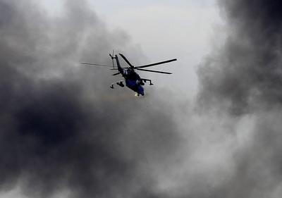 Battle at Donetsk airport; new Ukraine leader says no...