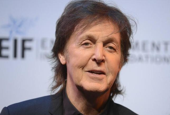 Musician Paul McCartney attends The Shakespeare Center of Los Angeles 23rd Annual Simply Shakespeare benefit reading of ''The Two Gentlemen of Verona'' in Santa Monica, California September 25, 2013. REUTERS/Phil McCarten