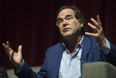 U.S. film director and screenwriter Oliver Stone speaks during a discussion with students at the University of Puerto Rico in San Juan November 30, 2012. REUTERS/Ana Martinez
