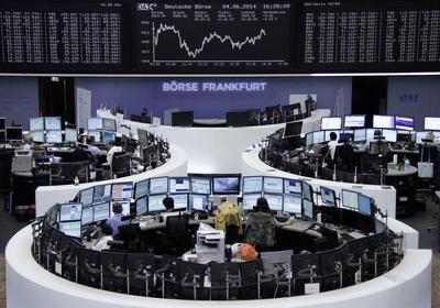 Europe's rate cuts lift stocks, Treasuries