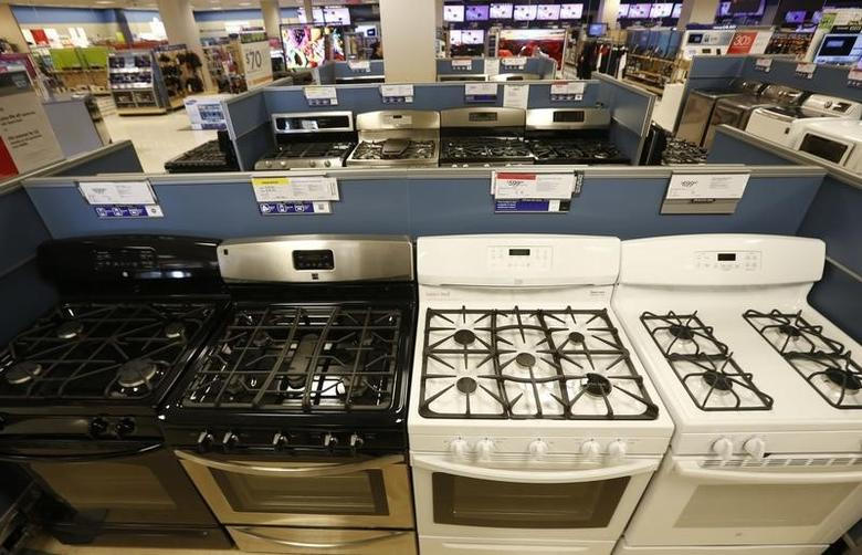 Stoves and other appliances are seen on display at a Sears store in Schaumburg, Illinois, near Chicago September 23, 2013. REUTERS/Jim Young