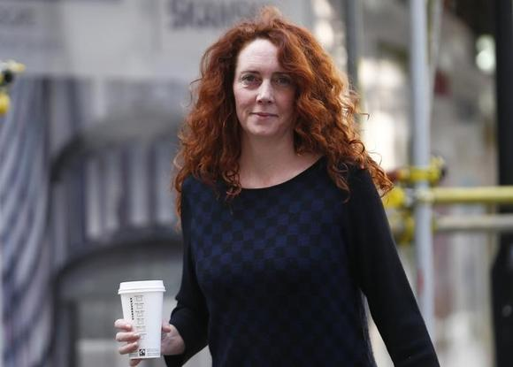 Former News International executive Rebekah Brooks arrives at the Old Bailey in central London April 1 , 2014.  REUTERS/Andrew Winning/Files