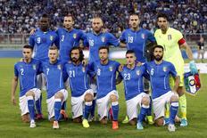 Seleção da Itália em foto antes de amistoso internacional contra Luxemburgo, em 4 de junho de 2014. REUTERS/Giampiero Sposito