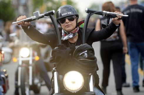Friday the 13th motorcycle rally