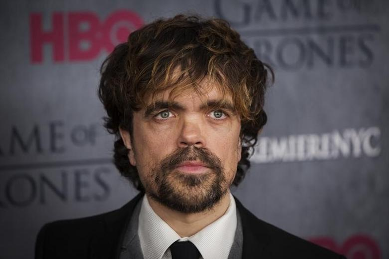 Cast member Peter Dinklage arrives for the season four premiere of the HBO series ''Game of Thrones'' in New York in this March 18, 2014, file photo.  REUTERS/Lucas Jackson/Files