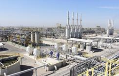 L'AIE, l'Agence internationale de l'énergie, estime que l'Irak risque de ne pas atteindre ses objectifs de production pétrolière et pointe les menaces qui pèsent sur les exportations dans un contexte d'instabilité politique dans les pays membres de l'Opep alors que la demande augmente. /Photo prise le 29 mars 2014/REUTERS/Essam Al-Sudani