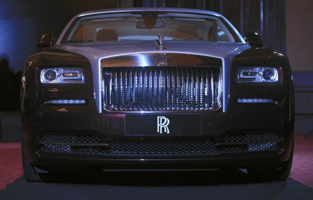 A Rolls-Royce Wraith car is displayed during the inauguration of an official dealership in Phnom Penh June 9, 2014. REUTERS/Samrang Pring
