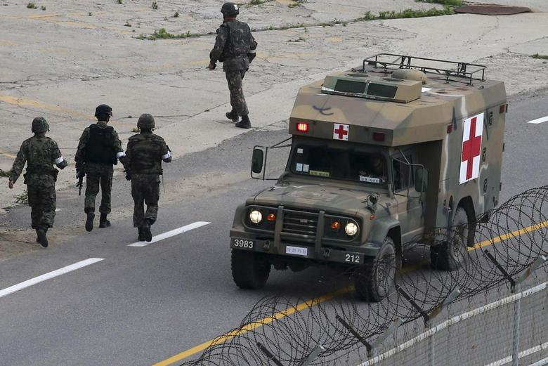 Rogue South Korea soldier shoots himself, ending long...