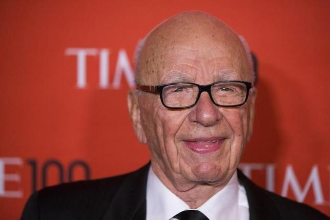 Rupert Murdoch arrives at the Time 100 gala celebrating the magazine's naming of the 100 most influential people in the world for the past year, in New York April 29, 2014. REUTERS/Lucas Jackson