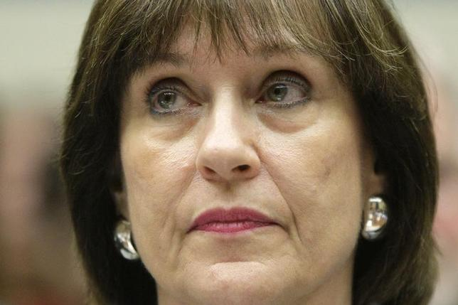 U.S. Internal Revenue Service Director of Exempt Organizations Lois Lerner sits for testimony before a House Oversight and Government Reform Committee hearing on targeting of political groups seeking tax-exempt status from by the IRS, on Capitol Hill in Washington, May 22, 2013. REUTERS/Jonathan Ernst