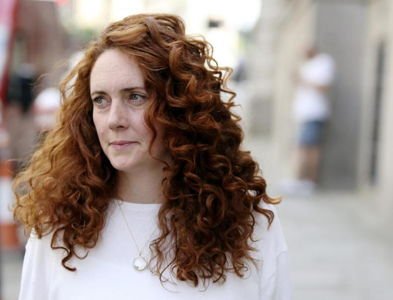 Former News International chief executive Rebekah Brooks arrives at the Old Bailey courthouse in London June 24, 2014. REUTERS/Paul Hackett