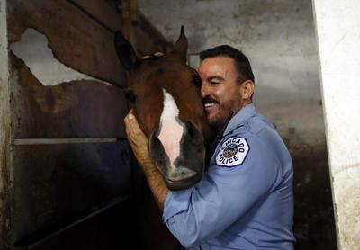 Mounted police academy