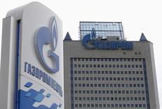 A russa Gazprom começou a bombear gás para unidades de armazenagem na Europa por meio de dutos que cruzam a Ucrânia, em meio a uma disputa entre Moscou e Kiev sobre preços do produto que ameaça o fornecimento para a Europa. 27/06/2014 REUTERS/Sergei Karpukhin